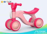 2017 China Factory Wholesale Mini Baby Balance Bike, Four Wheels Kids Scooter Ride on Car Toys