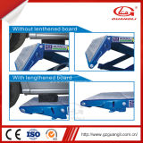 Guangli Factory Ce Approved High Quality Garage Equipment Movable Hydraulic Scissor Car Lift