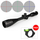 6-24X50mm Mil-DOT Reticle Tri-Illuminated Riflescope Side Focus Sight for Hunting or Shooting