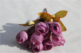 Wholesale Silk Mini Rose Artifical Flowers for Home Decoration