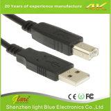 High Quality Black USB2.0 Am to Bm Printer Cable
