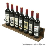 Antique Rustic Wine Holder Display Stand for Wine Storage Rack