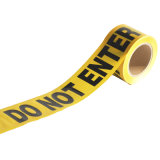 Yellow and Black Warning Caution Tape