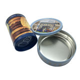 Food Grade Cake/Chocolate/Cookies/Biscuit Tin Box with Competitive Price