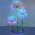 LED Firework Table Lamp