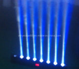 LED Beam Bar Moving Light/LED Wall Washer/LED Bar 8x10W RGBW Quad in One/LED Pixel Beam Bar