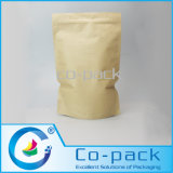 Kraft Paper Laminated Stand up Bag with Zipper