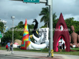Beautiful Outdoor Inflatable Exhibitions /Inflatable Art Design/City Architecture/Event Decoration