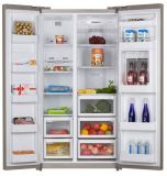 Side by Side Refrigerator (KRF-608W)