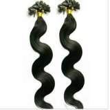 Nail Tip Body Wave U Tip Human Hair Extensions 100% Raw Indian Hair