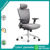 Grey Mesh Desk Chair with Lumbar Support