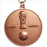 3D Sport Souvenirs Medal in Copper Plating