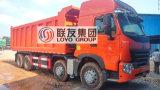 12 Wheel 8X4 420HP Sinotruk HOWO A7 Dump Truck