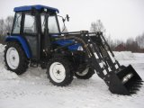 50HP Agricutural Tractor with Loader and Excavator Farm Equipment