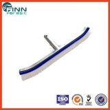 """18"""" Swimming Pool Wall Brush with Aluminum Back"""