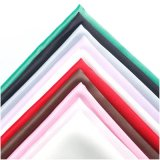 Plain Dyed 100% Polyester Fabric/Stretch Satin Fabric