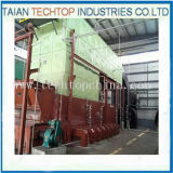Double Drums D Type Coal Fired Steam Boiler for Textile Industry