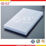 Clear Heat Resistant Plastic Cellular Polycarbonate Honeycomb Sheet Building Material for Awnings