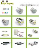 12PCS 5mm P21W Auto LED Bulb (LW-L0902)