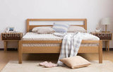 Solid Wooden Bed Modern Double Beds (M-X2242)
