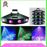 Professional Four Heads LED Moon Flower Effect Light for KTV Disco DJ Bar Club