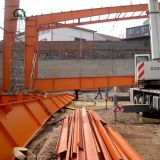Fabrication Steel Frame Sheds for Coal, Goods
