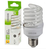 Ce Approved CFL Light Lamp 25W E27 B22 Spiral Energy Saving Bulb
