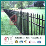 Wrought Iron Welded Picket Mesh Fence/Ornamental Iron Steel Fence
