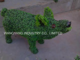 Artificial Fake Synthetic Handmade Grass Small Pig