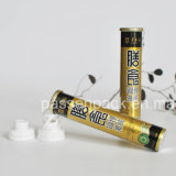 Aluminum Effervescent Tablet Packaging Tube with Flipoff Closure (PPC-AET-002)