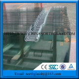 Good Quality Cutouts Notches Clear Toughened Glass