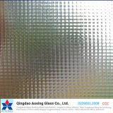 Crystal Patterned Glass Used for Window, Door
