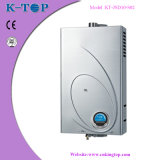 Stainless Steel Panel 10L Blue LCD Gas Water Heater