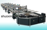 Fully Automatic T-Shirt Screen Printing Machine, Oval Automatic Textile Screen Printer (SP-V14)