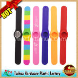 Fashion Silicone Slap Watch Bracelet (TH-slap037)