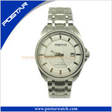 Superior Mechanical Stainless Steel Men′s Watch with Steel Band