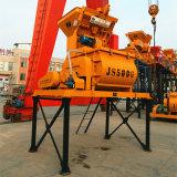 Twin Shaft Concrete Mixer (Js500) Machine