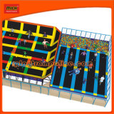 2014 Small Customized Indoor Trampoline Park