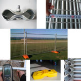 Australia Standard 1.8 X 2.4 M Removable Galvanized Temporary Fence