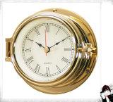 Nautical Quartz Clock Roman Nuberals Dial 81mm
