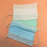 Breathable Surgical Disposable 3 Ply Earloop Face Mask