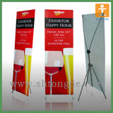 Aluminum Silver Easy Roll up Budget Banner Display Stand (TJ-0010)