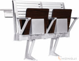 Aluminum Alloy Leg School Chair and Desk