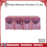Dirty Resistant Polyester Table Skirting Br-Tq102