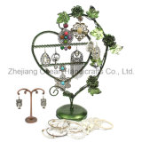 Heart Shaped Iron Jewelry Display (wy-4509)