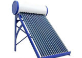 100L Vacuum Tube Unpressure Solar Water Heater for Home