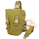 Miltiary Thigh Pouch for Gas Mask (JYB-109-1)