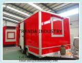 Customized Coffee Vending Mobile Food Cart