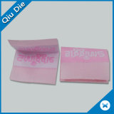 Custom Center Folded Fabric Labels for Hair Wigs
