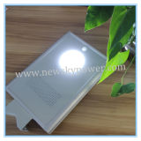 12W All Ine One Integrated Solar LED Garden Road Street Lamp with CE RoHS